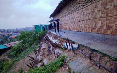 No raincheck at Rohingya camp