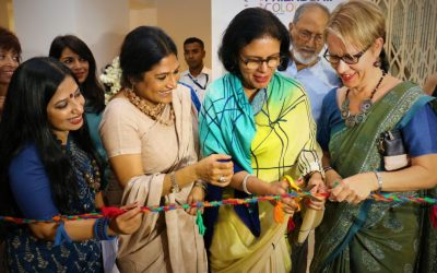 FRIENDSHIP COLOURS OF THE CHARS OPENS RETAIL SHOP IN BANANI