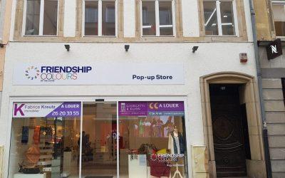 Ouverture d'un nouveau Friendship Colours of the Chars Pop-Up Store – Opening of a new Friendship Colours of the Chars Pop-Up Store
