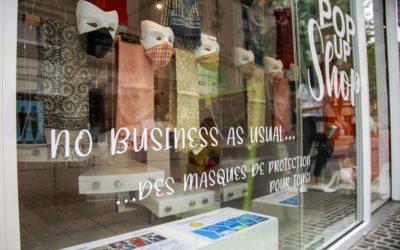 No Business As Usual : des masques de protection pour tous