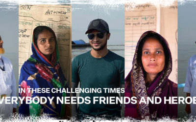 Friendship launches Friends and Heroes campaign with Shakib Al Hasan