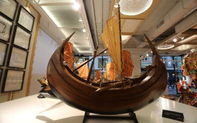 Exposition de bateaux à Luxembourg