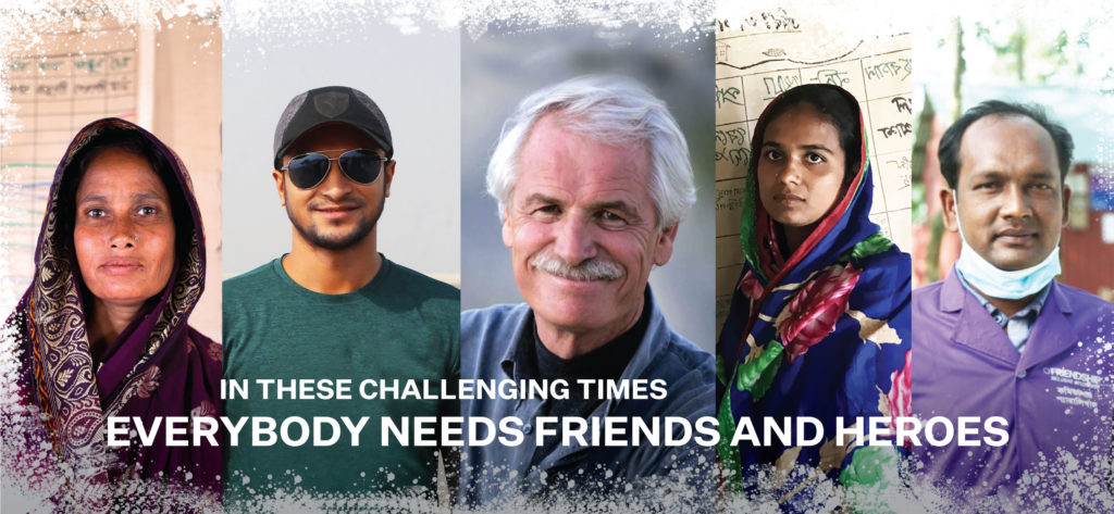 Climate Action - Friends and heroes - Yann Arthhus