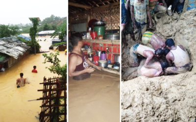 Situation Report: Flood and Landslides Cause Havoc in Rohingya Camps